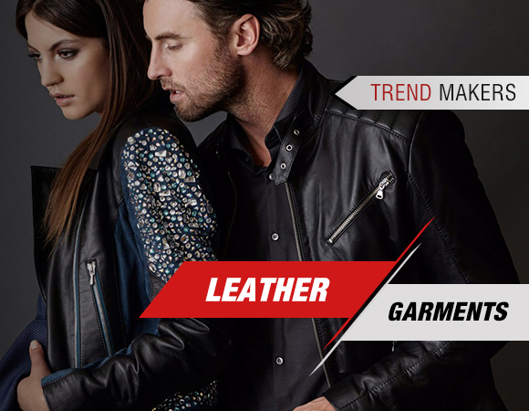 leather garments - trend makers